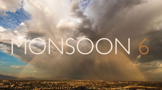 Top New Timelapse Videos: 'Monsoon 6' (4K) – Storm Chasing By Mike Oblinski