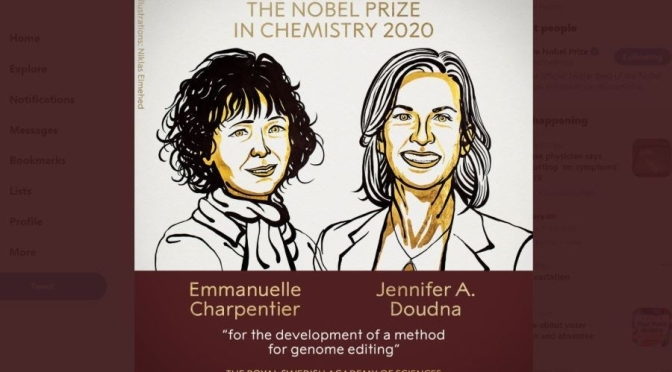 Top Interviews: Jennifer A. Doudna & Emmanuelle Charpentier, 2020 Nobel Prize, Chemistry (Podcast)