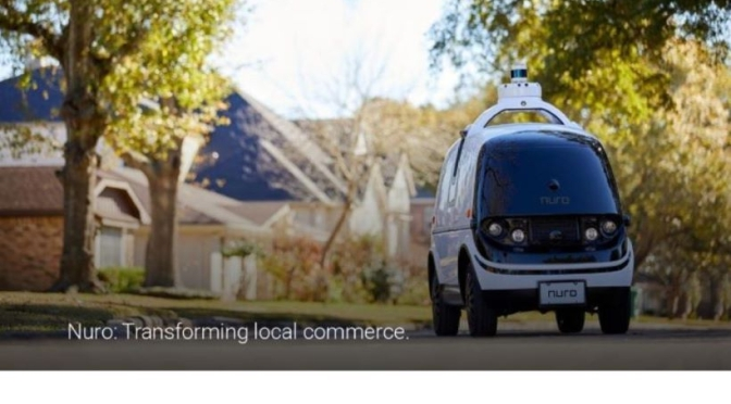 Technology: 'Nuro R2' Self-Driving Delivery Vehicle Completes Test Drives In 3 States (Video)