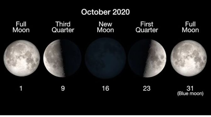 Skywatching With NASA: Oct 2020 Has 2 Full Moons, Mars At Opposition (Video)