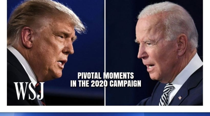 Political Analysis: 'Pivotal Moments In The 2020 Presidential Campaign'