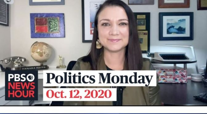 Politics Monday: Tamara Keith And Amy Walter On Trump, Covid & The Senate