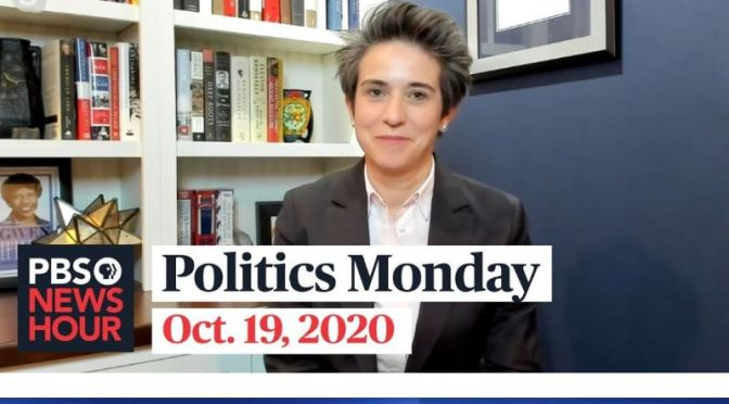Politics Monday: Tamara Keith And Amy Walter On 2020 Election (PBS Video)
