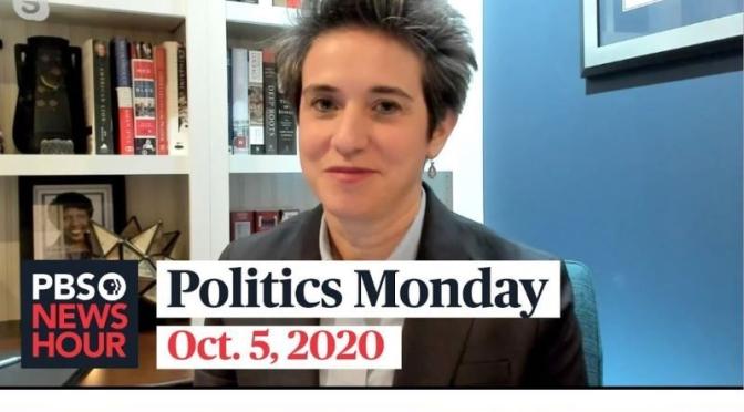 Politics Monday: Amy Walter And Domenico Montanaro On Trump Covid-19, Joe Biden (Video)