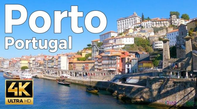 New Walking Tour Videos: 'Porto, Portugal' (2020)