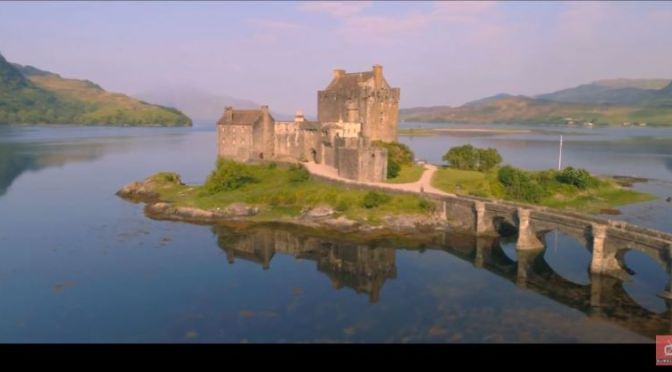 New Aerial Travel Videos: 'The Scottish Highlands'