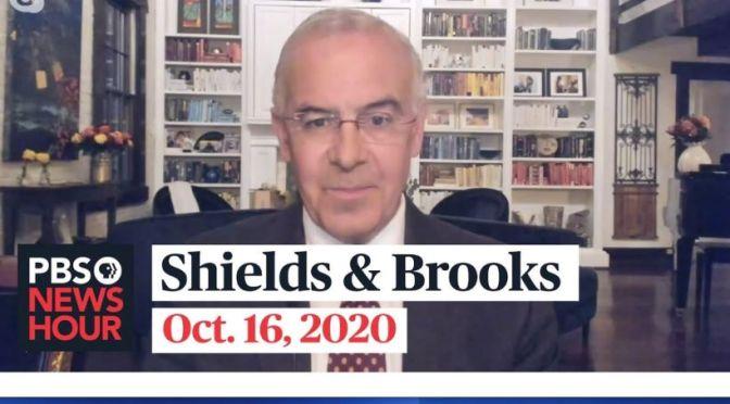 Political News: 'Shields & Brooks' On Trump-Biden Town Hall (PBS Video)