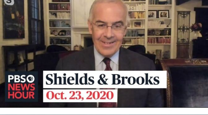 Political News: 'Shields & Brooks' On Trump And Biden Campaigns (Video)