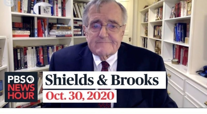 Political News: 'Shields & Brooks' On Closing 2020 Campaign Strategies (PBS)
