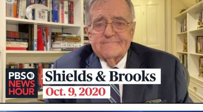 Political News: 'Shields & Brooks' On Covid-19, 2020 Election Issues (PBS Video)