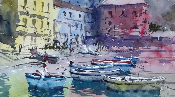 Top Artist Profile: British Watercolorist Tim Wilmot