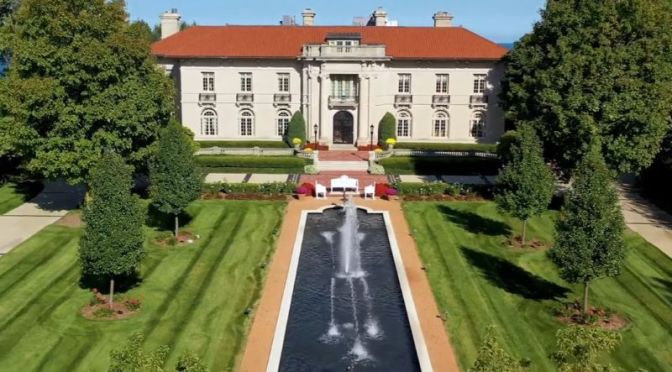Top Estate Home Tours: 'Whitefish Bay, Wisconsin' -Grand Italian Renaissance