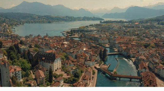 New Aerial Travel Videos: 'Switzerland – 4K' (2020)