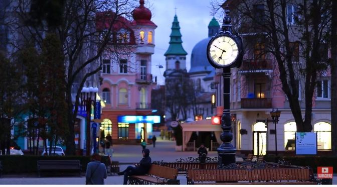 Travel Videos: 'Ternopil' In Western Ukraine (2020)