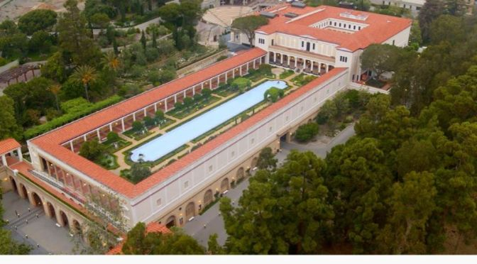 Top Museum Tour Video: 'The Getty Villa' – Malibu