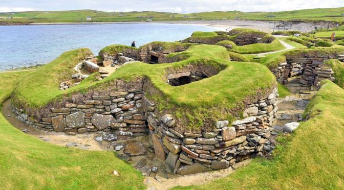 Travel & Archaeology: 'Skara Brae' Stone Age Settlement In The Orkney Islands, Scotland (Video)