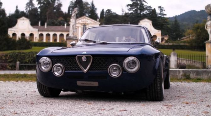 Classic Car Restorations: '2021 Alpha Romeo Giulia GT Electric' By Totem Automobili, Italy (Video)