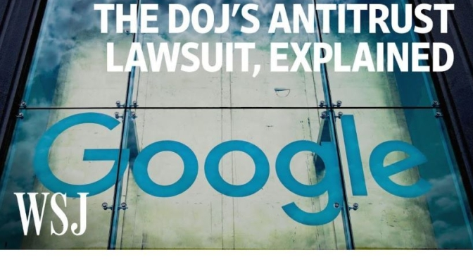 Online Search: Antitrust Lawsuit Against Google Explained (WSJ Video)