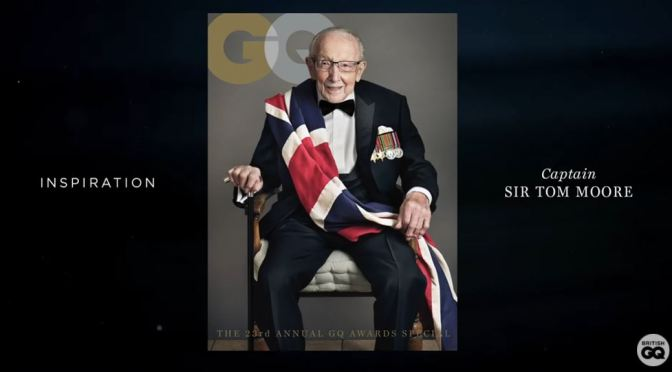 Profiles: 100-Year Old Sir Captain Tom Moore – How He Stays In Shape (Video)