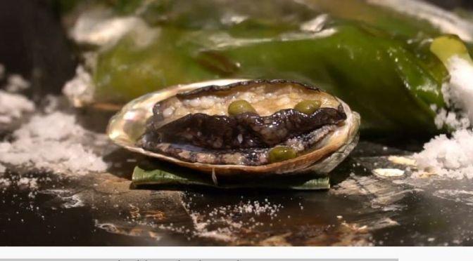 Culinary Arts Video: 'Salt-Baked Abalone & Wagyu Beef' In Kaohsiung, Taiwan
