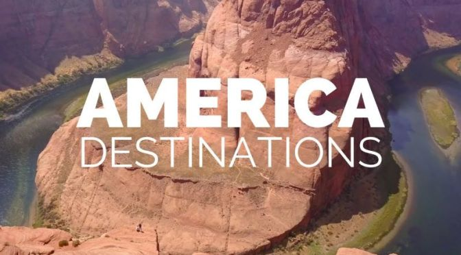 Top Travel Tour Videos: 'The 25 Most Beautiful Places In America' (2020)