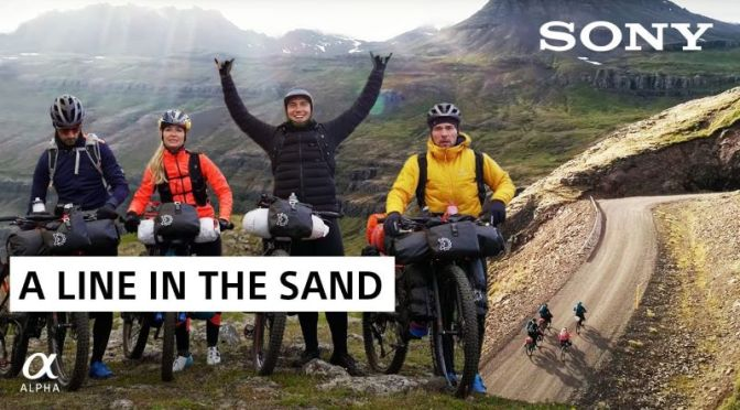 Travel & Adventure Video: 'A Line In The Sand' – Biking Across Iceland (2020)