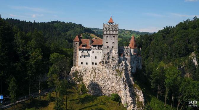 Aerial Travel Video: 'Bran Castle – Romania' (2020)