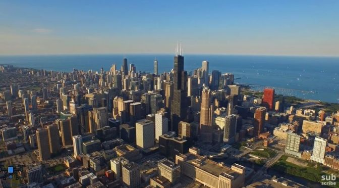 Aerial Travel Video: 'Chicago – Illinois'