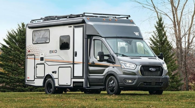 Top New Camper Vans: Winnebago EKKO (Video)