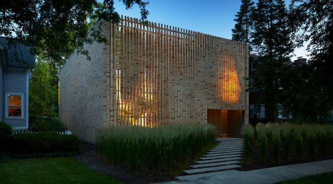 Architecture: 'Lipton Thayer Brick House' In Evanston, Illinois (Video)
