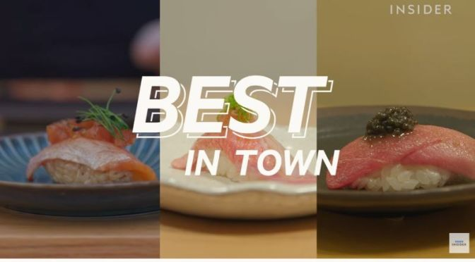 Food & Dining: 'The Best Sushi In New York City'