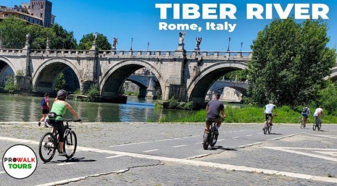 Travel Videos: 'Biking The Tiber River In Rome' (2020)