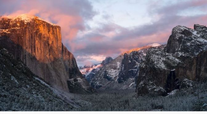 Travel: Photographers 'Chasing Yosemite Snow'