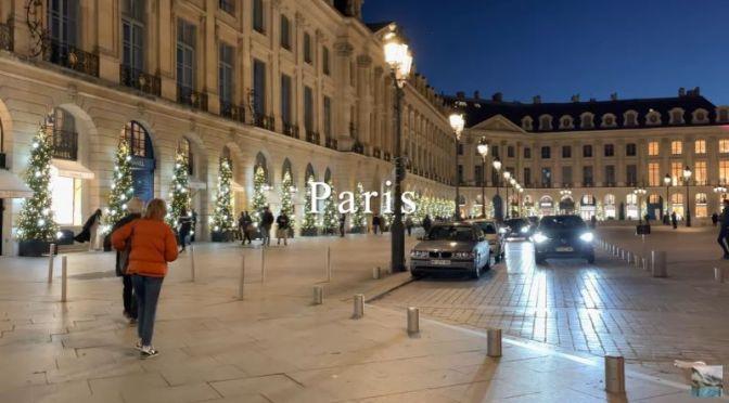 Walking Tours: Christmas Season In Paris, France