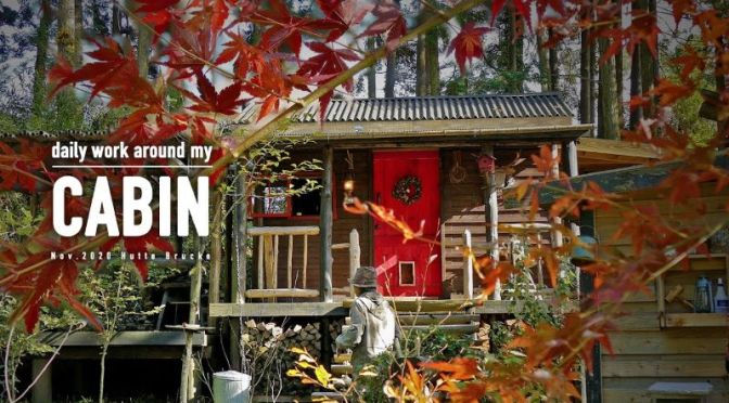 Life In A Cabin: Daily Work Routine In Kyushu, Japan