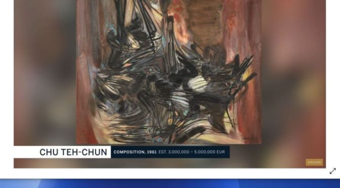 Artist Profile: Chinese-French Abstract Painter Chu Teh-Chun (Video)