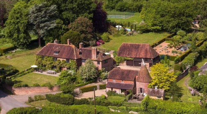 English Country Homes: 'Great Baynden – Kent'