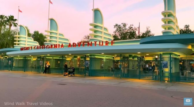 Video: 'Walking Tour Of Downtown Disney To California Adventure'