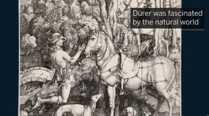 Profile: German Painter & Engraver Albrecht Dürer
