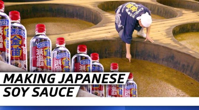 Foods: How Japan Has Been Making Soy Sauce For Over 220 Years (Video)