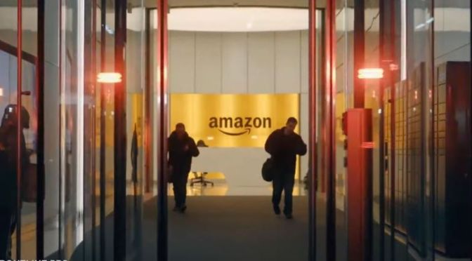 Online: 'Inside Amazon's Smart Warehouse' (Video)