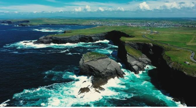 New Aerial Travel Videos: 'Ireland', The Emerald Isle