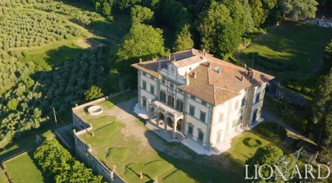 Renaissance Villa Tour: Pistoia In Tuscany, Italy