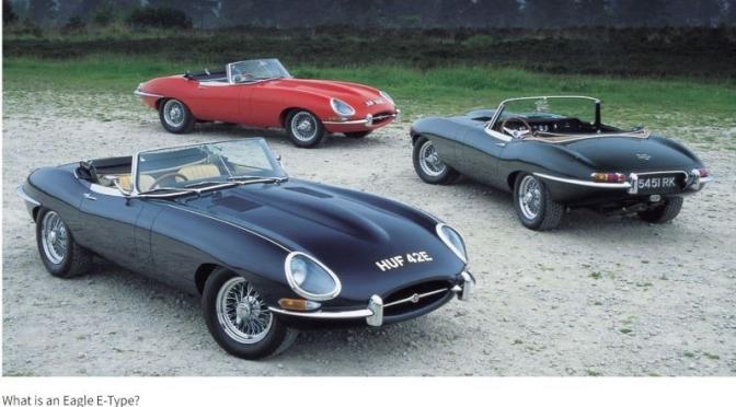 Classic Car Restoration: 'Eagle – Masters Of The Jaguar E-Type' (Video)
