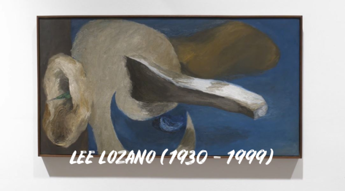 Video Profiles: American Conceptual Painter Lee Lozano (1930-1999)
