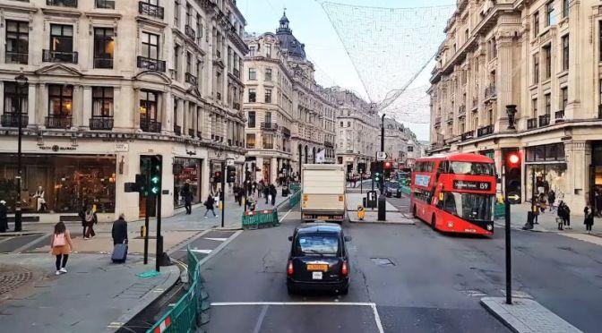 Travel Video: 'Double-Decker Bus Tour' -Big Ben, Trafalgar Square, London