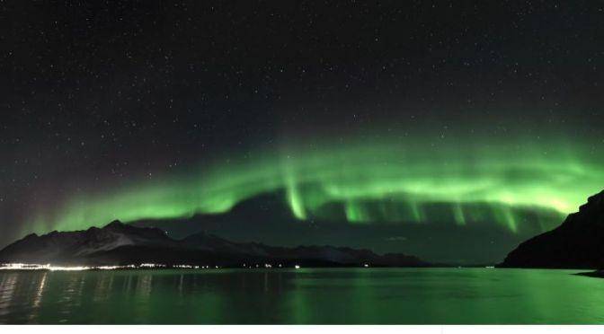 Timelapse Travel Video: 'Lyngenfjord Auroras' In Northern Norway (2020)