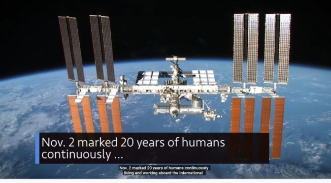 Space Program: November Marks 20 Years Of Humans Abord The Space Station