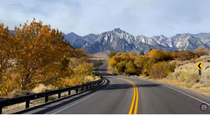 Full-Time Camper Travel: Catherine Gregory In The Eastern Sierras (Video)