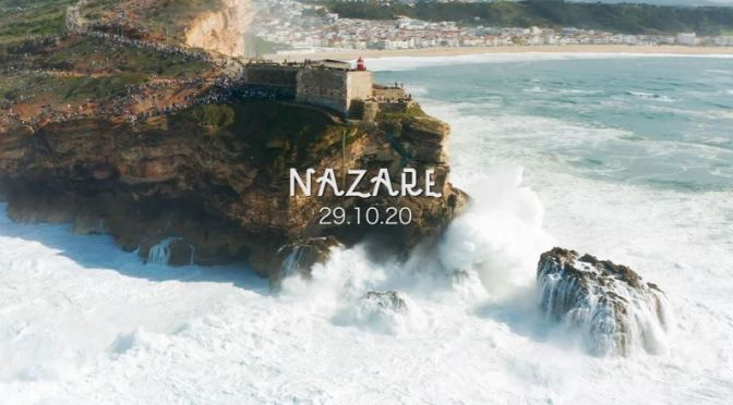Travel & Adventure Video: 'Nazaré, Portugal' – Home Of Biggest Waves On Earth